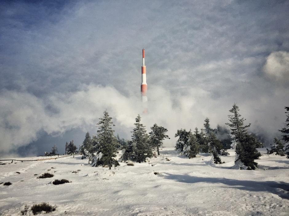 Brockenbahn Winter