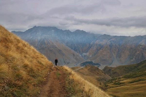 Gergeti-Gletscher Georgien