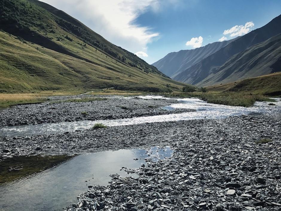 Juta Wandern Georgien