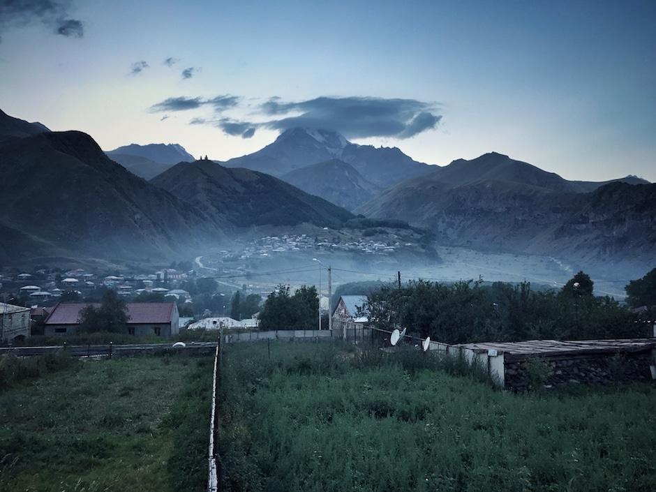 Kazbegi Wandern Georgien