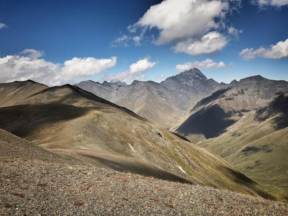 Chaukhi-Pass Georgien