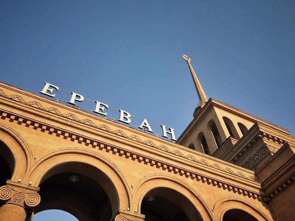 Nachtzug Tiflis Jerewan