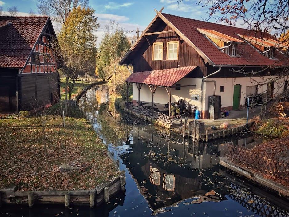 Spreewald im Winter