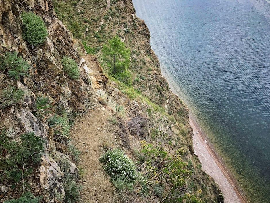 Listwjanka Baikalsee Wandern