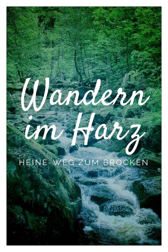 Wandern im Harz Heinrich-Heine-Weg