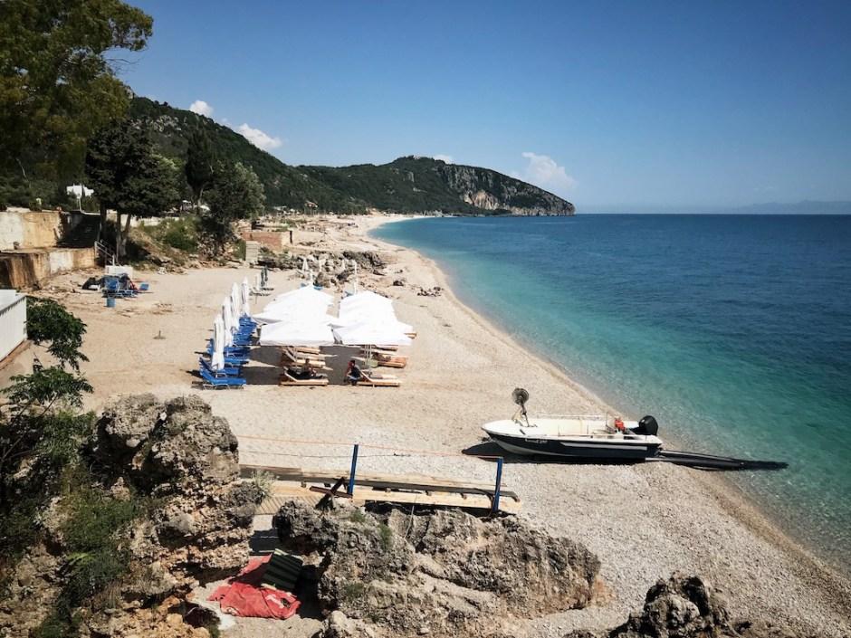 Albanien Strand Dhermi