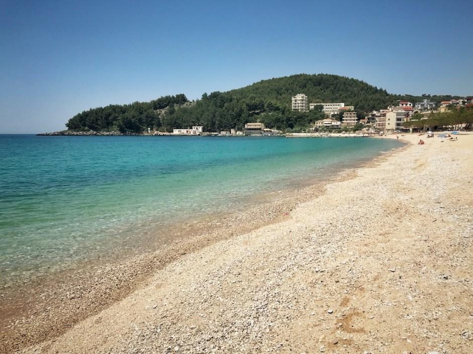 Albanien Strand Himara