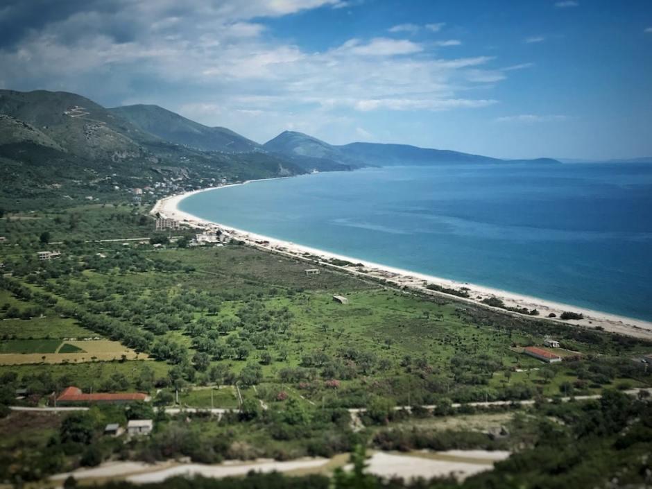 Albanien Strand Borsh