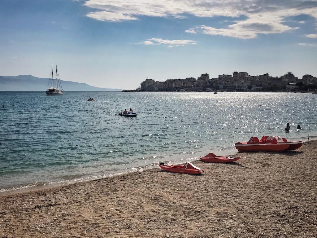 Albanien Strand Saranda