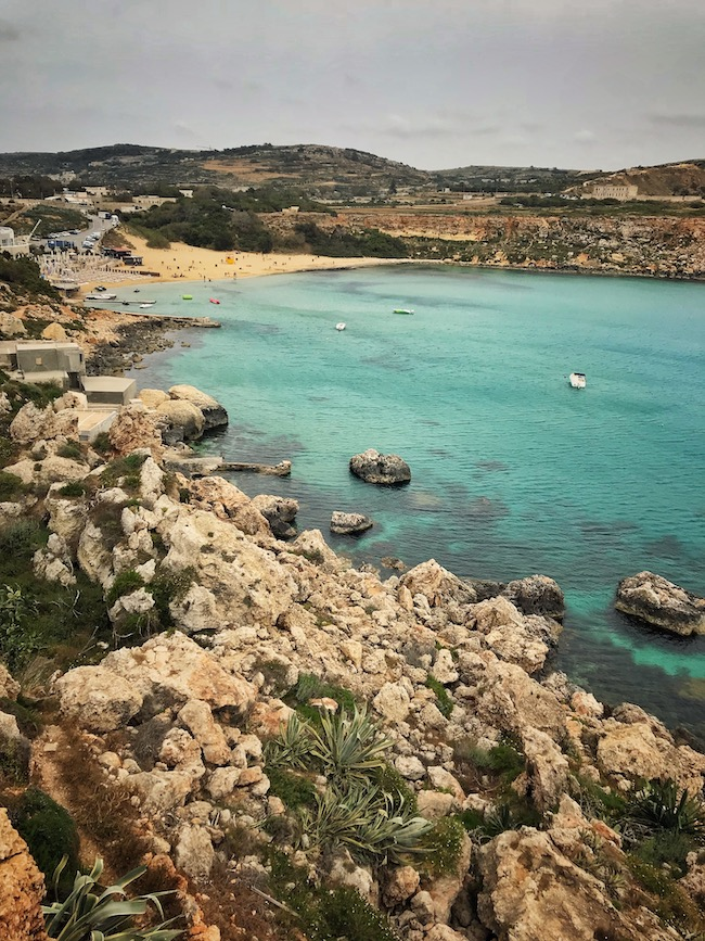 Golden Bay Beach Malta