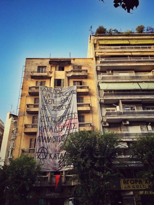 Thessaloniki Anarchismus