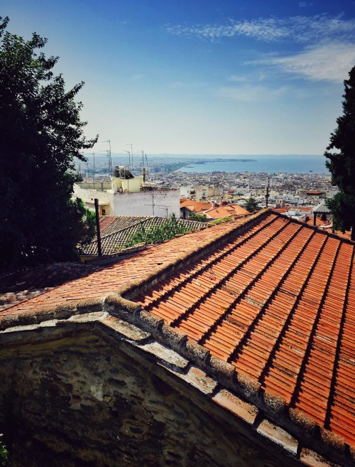 Thessaloniki Ano Poli Ausblick
