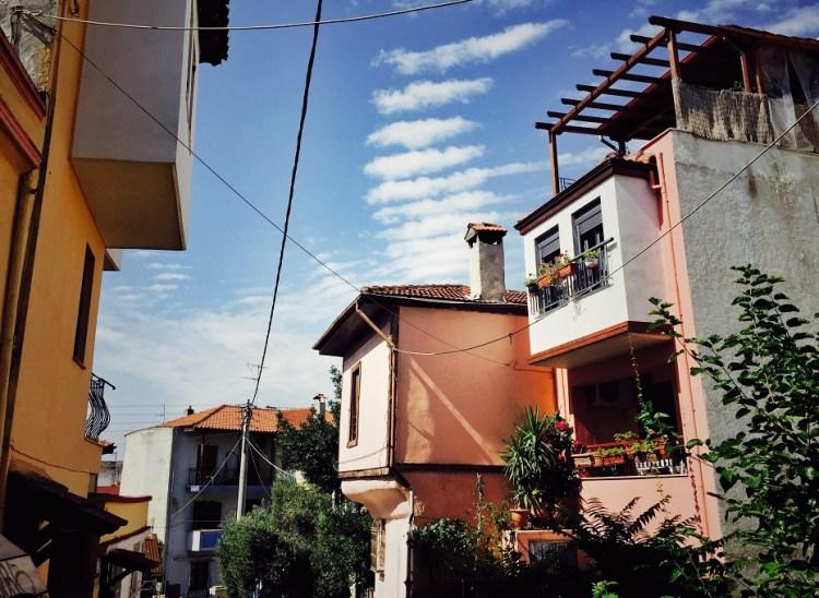 Thessaloniki Ano Poli Ottomanische Architektur
