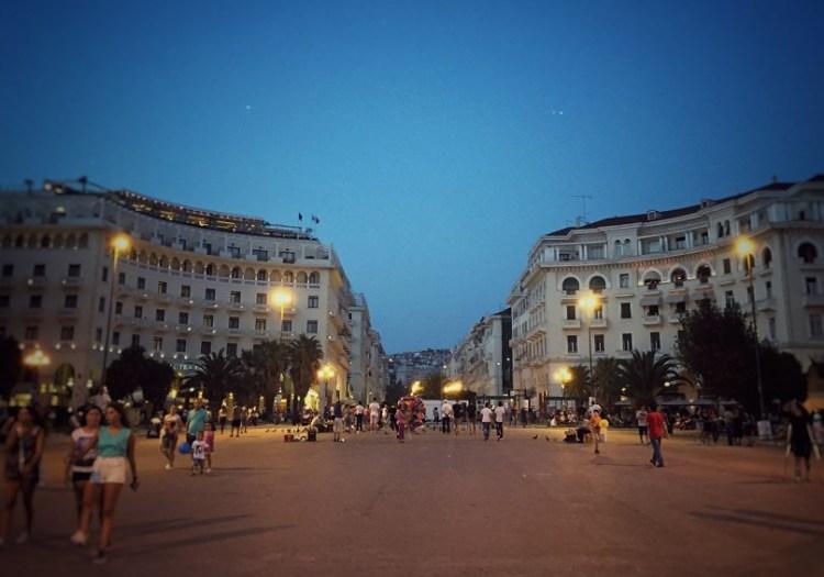 Thessaloniki Aristoteles-Platz