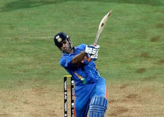 M S Dhoni World Cup winning six moment