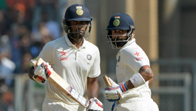 Kohli Jayant Mumbai 4th test