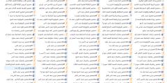 التحضير القديم (الفصل الأول) لجميع المواد ولكافة الصفوف 1-12
