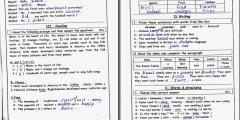 نماذج امتحانات نهائية لغة انجليزية مُجابة وغير مُجابة للصف الثامن
