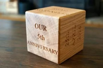 5th wedding anniversary gifts