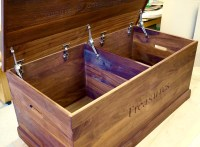 Create a bespoke wooden toy box for your children ...