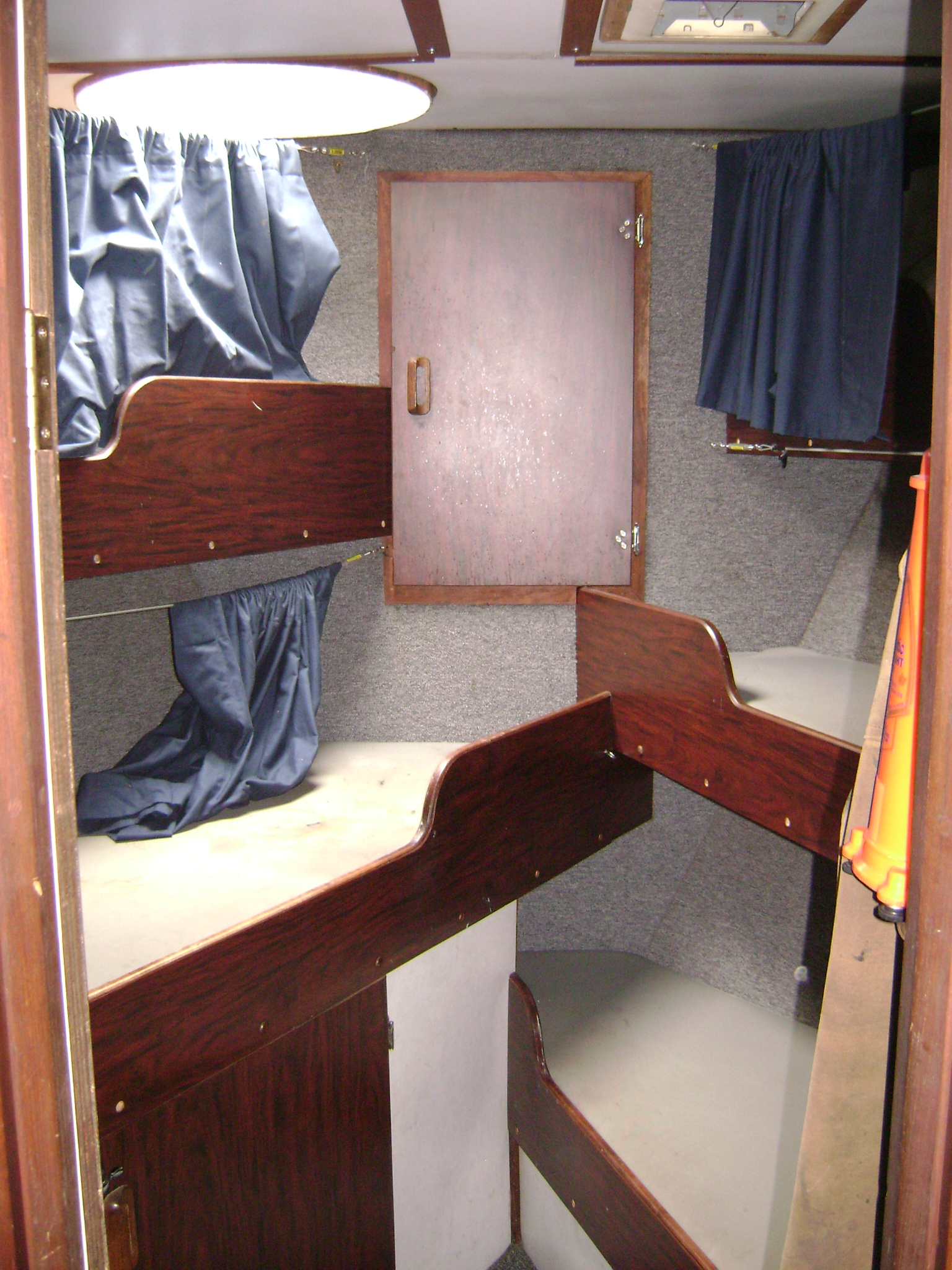 Your bunk at sea