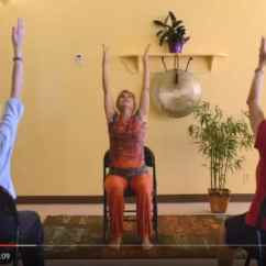 Yoga Chair Exercises For Seniors Rocking Cushions Nursery Reduce Pain And Improve Health Video
