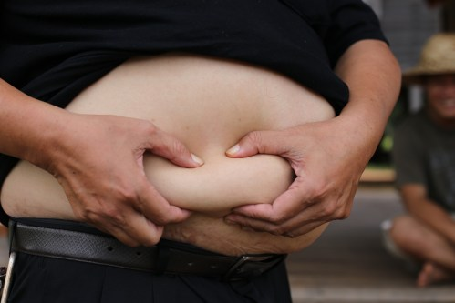 small resolution of visceral hard belly fat
