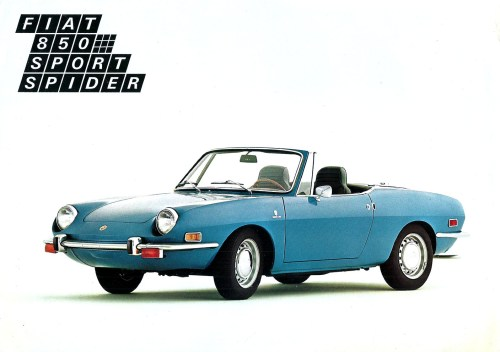 small resolution of fiat 850 spider