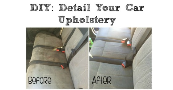 DIY Detail Your Cars Upholstery