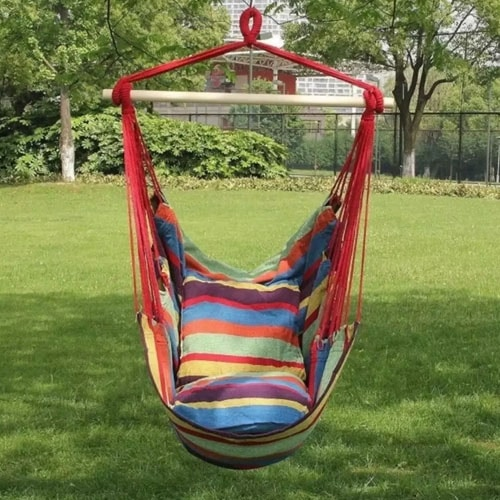 rope chair swing outdoor patio cushions target today only jane hanging hammock 22 99 reg 65