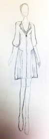 Scarlet Witch Avengers 2 Costume Sketch