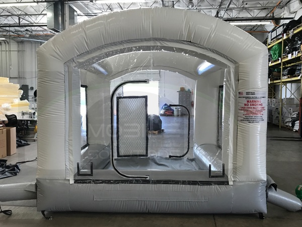 mobile inflatable paint booths