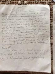 Letter about Papa's friend (3/4)