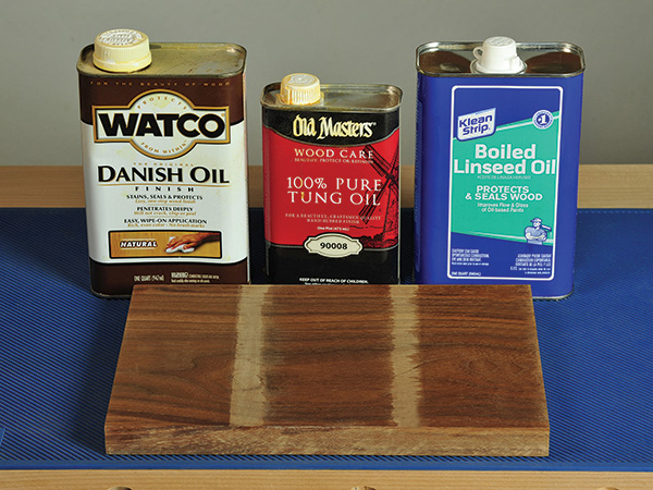 Lacquer Over Tung Oil