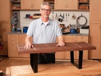 Build a Modern Coffee Table with Cross Lap Joints ...