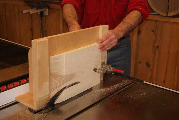 Raised Panel Jig For Table Saw