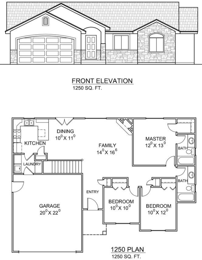 24 spectacular rambler house plans utah 54091