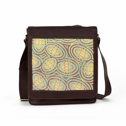 MB Messenger Bag-AMF46 Brown-B
