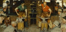 Norman Rockwell Fall Paintings
