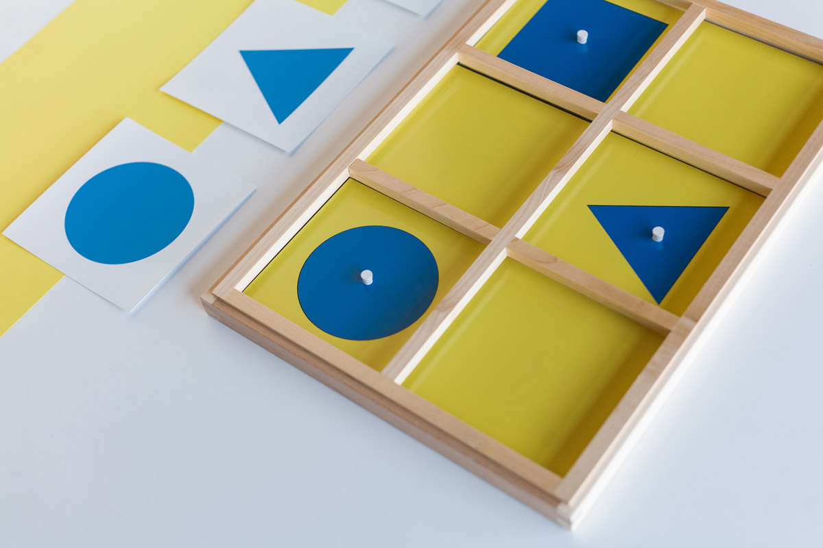 Geometry Cabinet And Cards