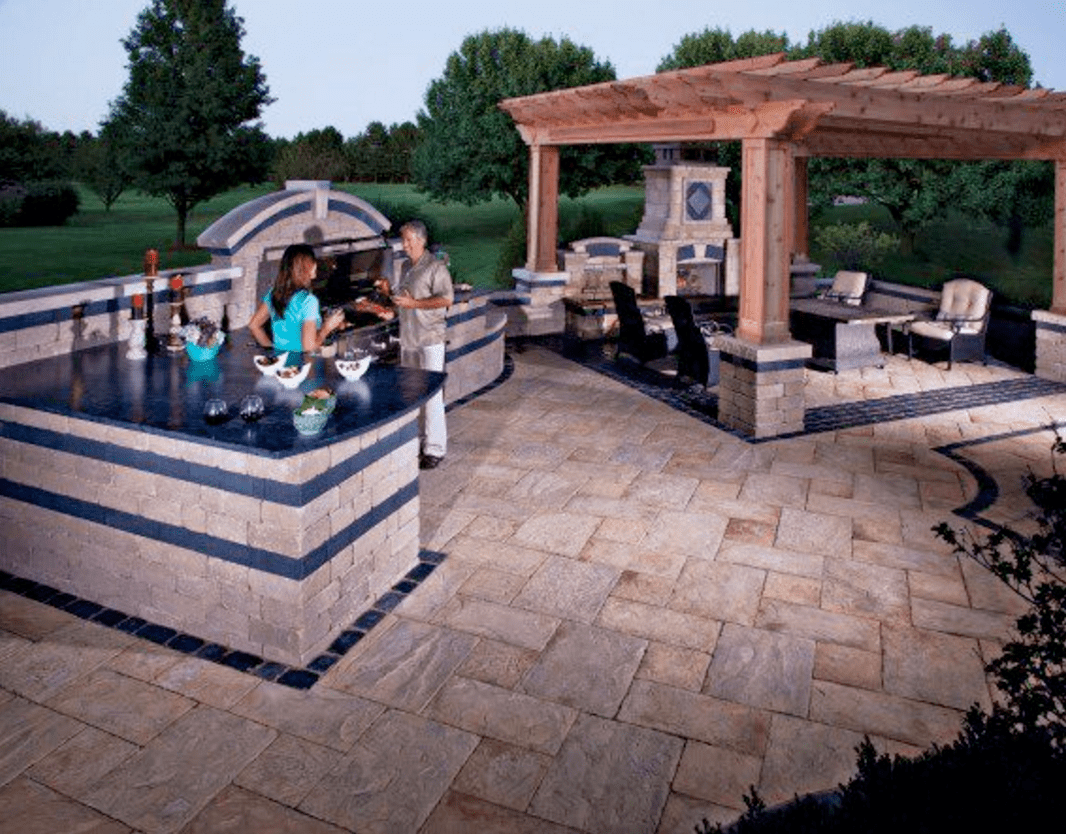 outside kitchen outlets 10 outdoor designs sure to inspire ideas landscaping ny ct pa nj