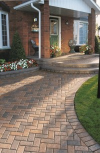 Unilock Concrete Pavers for a Relaxed Rustic Atmosphere ...