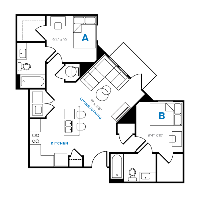floor plans aspen heights