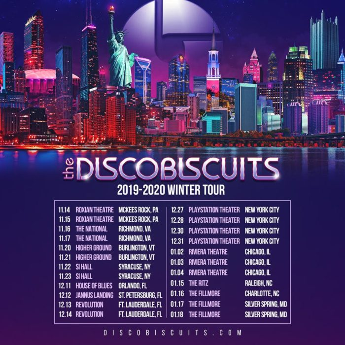 Image result for the disco biscuits 2019-2020 winter tour