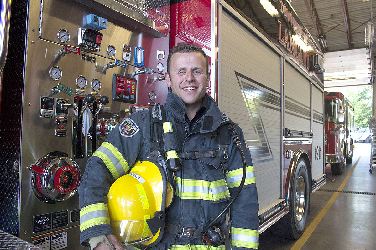 hight resolution of langley firefighter mark butterworth hikes the grouse grind next month in support of mental health in preparation for the fundraising trek