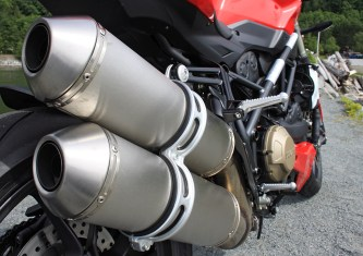 The Ducati Streetfighter: Nothing subtle about the sound