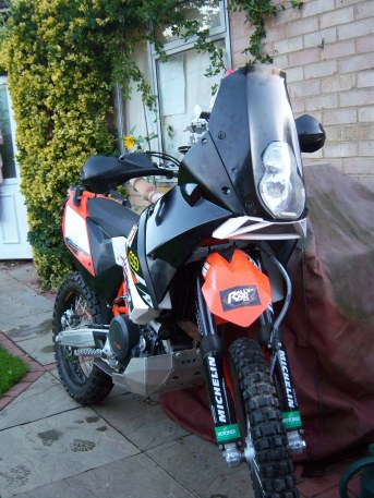 Rally Raid Products UK Fairing Kit is the Sensible Choice