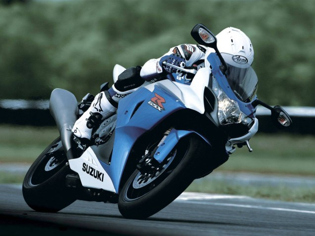 GSX-R Ride Shot: Courtesy of Suzuki