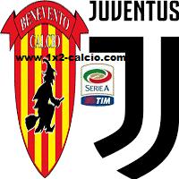 Pronostico Benevento Juventus
