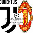 pronostico juventus-manchester united